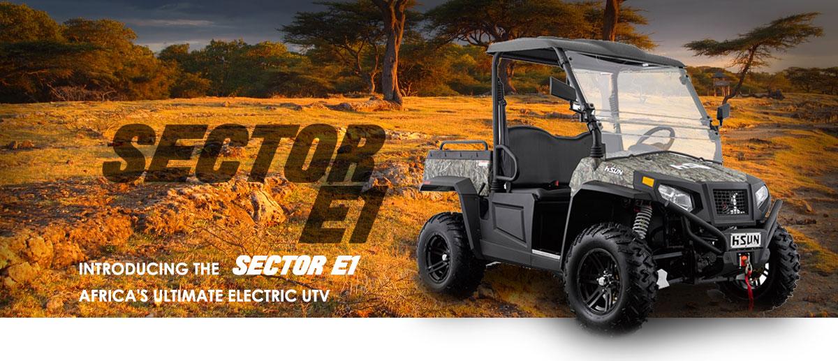 Sector E1 - Hisun South Africa, Africa's UTV of Choice